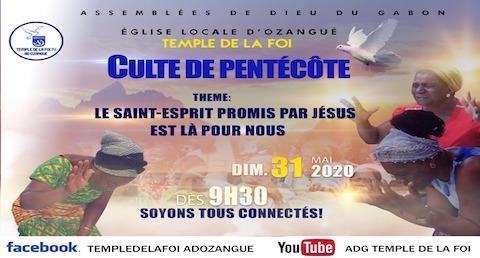 Culte de Pentecôte 2020