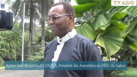 APOTRE Jude Benjamin N'GOUWA Interview du  Président des ADG